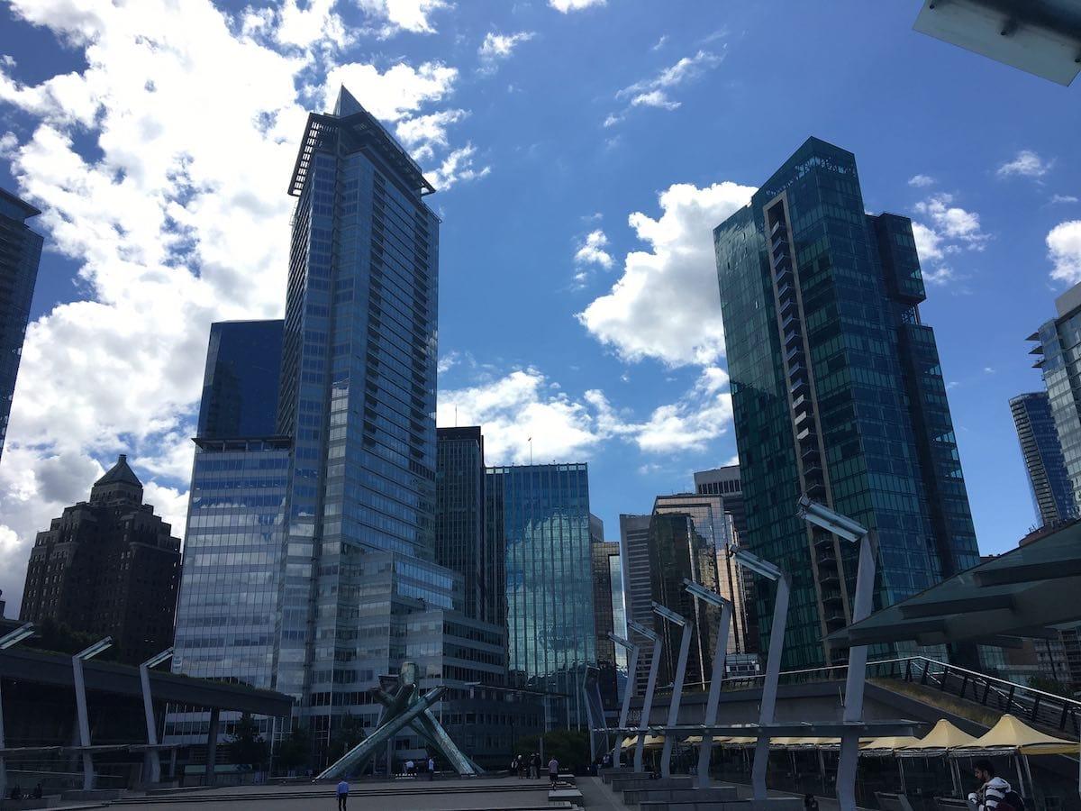 Vancouver Skyline In June
