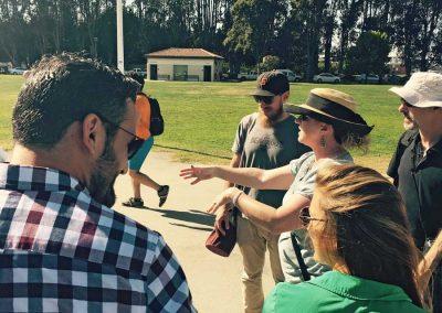 WDP Photoshoot: Partner Leslie Belingheri Getting Everyone Organized